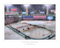 Frozen Fenway, January 8, 2010