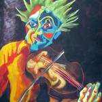 """VIOLIN MAN"" by inowicki"