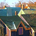 """""""Rooftops at Noon on Sunday"""" by kcam"""