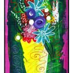 """""""Bistro Floral #9"""" by wasankari"""