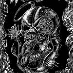 """skull 2010"" by jameskeatingart"