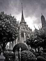 The Royal Palace Garden in Bangkok