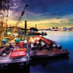"""Dredging works, Sentosa – Singapore"" by williamcho"