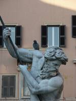 Neptune and the Pigeon, Rome, Piazza Navona
