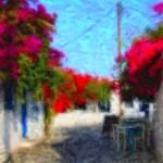 """Street of Folegandros"" by horiapopan"