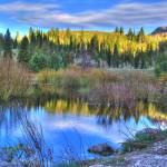 """Big Cottonwood Canyon Utah HDR Beaver pond"" by Spoiler"