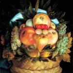 """Head_with_Fruit_Basket_1590_Wood"" by OldWorldPrintShop"