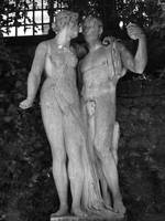 Adam and Eve Full Statue