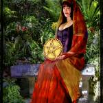 """Queen of Pentacles"" by ArtGrrlProductions"