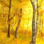 """Autumn Forest"" by Mesterartshop"