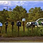 """Madrid Mailboxes, Santa Fe"" by madeline"