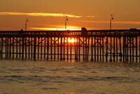 d0017 Pier at Sunset