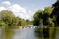 Boats on Markeaton Lake (19577-RDA)