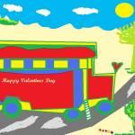 """""""valentinesbus"""" by hobbyart"""