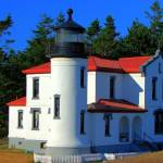 """""""Admiralty Head Lighthouse"""" by honuphoto"""