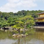 """Kinkaku-ji [ Golden Pavilion ]  Panorama (no 2 )"" by AlexCarbune"