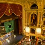 """Budapest Opera House, Red Velvet Curtains"" by madeline"
