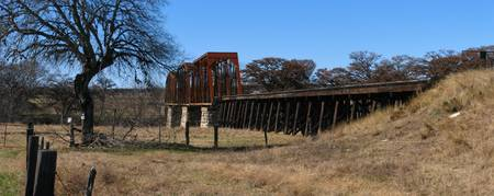 Rail Bridge over Guadalupe River II