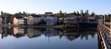 Coupeville Reflection Three