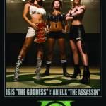 """Isis ""The Goddess"" vs Ariel X ""The Assassin"""" by Pockit"