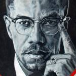 """malcom x"" by giftportraits"