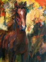Full Of Life - Oil Painting by Ginette Callaway