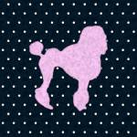 """Polka Dot Poodle"" by JaZilla"