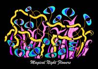 Magical Night Flowers w/title