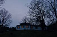 Country Cottage at dusk