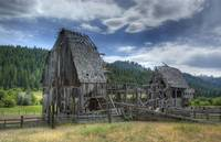 Old Idaho Barn