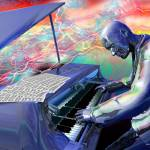 """Blue Piano"" by RickBorstelman"