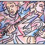 """""""Guitar Duel"""" by RickBorstelman"""