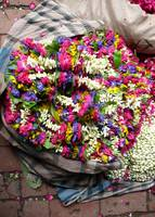 Bright Bag of Flower Garlands