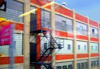 Factory With Fire Escape