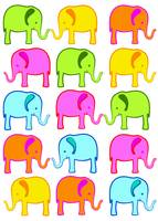 Cute Elephant Color Palette