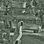 """""""Old Trucks and Dirt Roads"""" by robbdee40"""