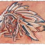 """Indian Chief"" by RickBorstelman"