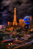 HDR of Paris Hotel - Las Vegas