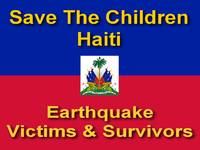 Save The Children Haiti Earthquake Victims & Survi