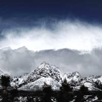 Red Rock Snow, Panoramic No. 4 Art Prints & Posters by Benjamin Padgett