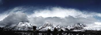 Red Rock Snow, Panoramic No. 4