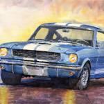 """Ford Mustang GT3501966"" by shevchukart"