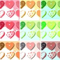 Valentine's Day Cookie Hearts