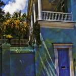 """Charleston Blue Door"" by DaveCarr"