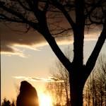 """Rock Person Silhouette"" by StarliteWonderImaging"