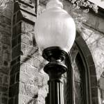"""Lamp Post Black and White"" by iggyfan"