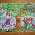 """Nicole in Wonderland (c)2010 L. Curtis"" by LaurenCurtis"