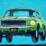 """Bullitt Mustang"" by MitchellMcClenney"