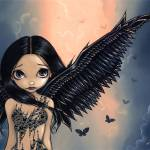 """Black Winged Angel"" by strangeling"
