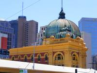 Dome on Flinders Street Station